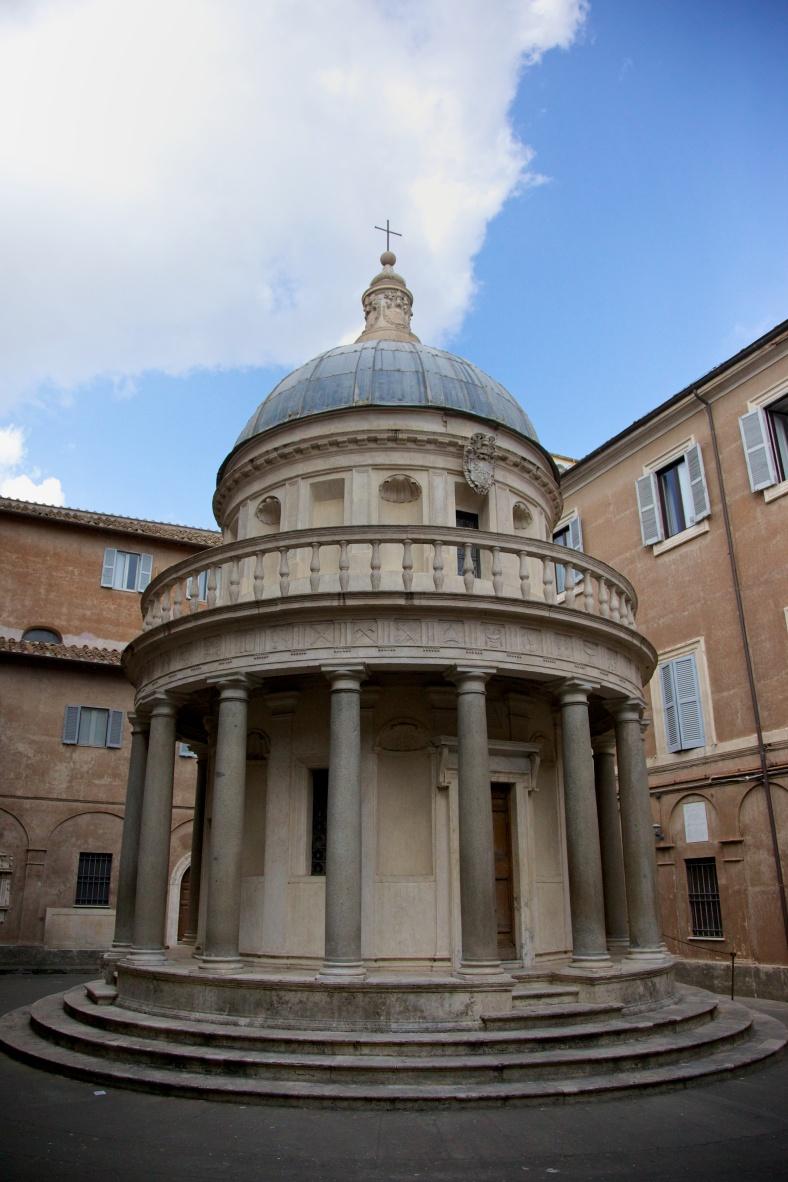 Tempietto of bramante imaginal worlds for Architecture quattrocento